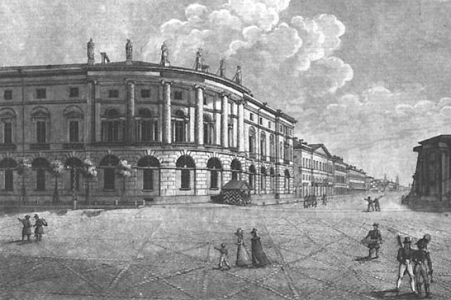 Библиотеку строили как крупнейшее книгохранилище страны.