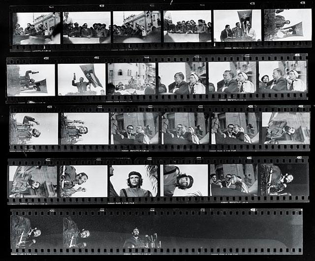 Фотопленка Альберто Корды с митинга 1960 года