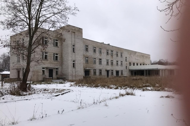 Больница-долгострой в Кувшиново.