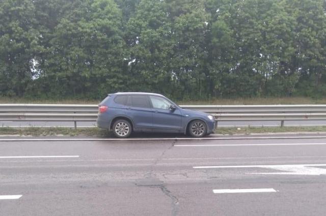 Водитель не справился с управлением