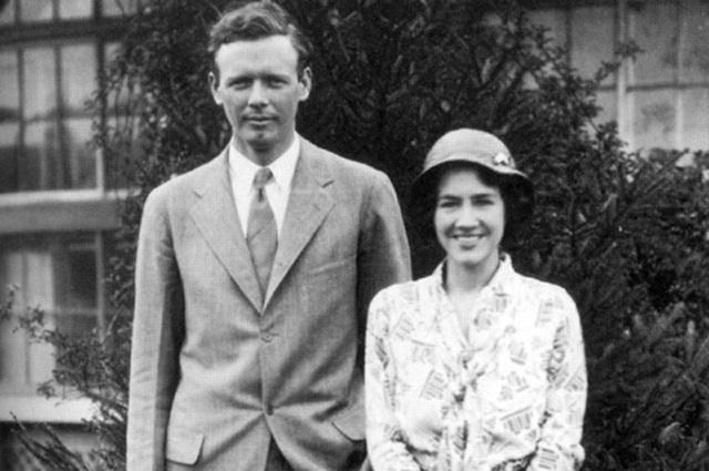 Чарльз и Энн Морроу Линдберг.
