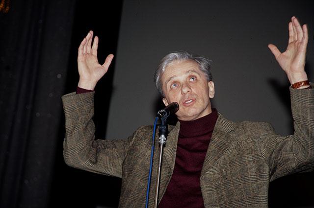 Евгений Стеблов, 2002 г.