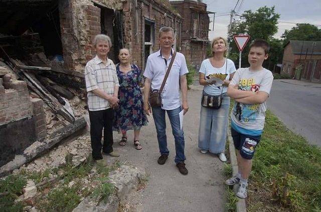 Уничтоженный огнем дом в 2017 году.
