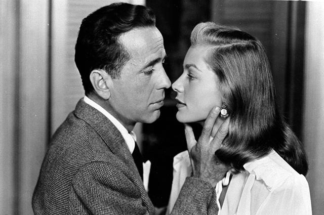 Лорен Бэколл в фильме Тёмная полоса, 1947 год