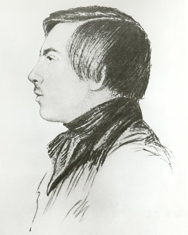 Фридрих Энгельс в возрасте 19 лет.
