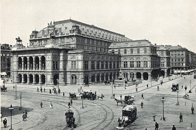Венская государственная опера. 1898 год