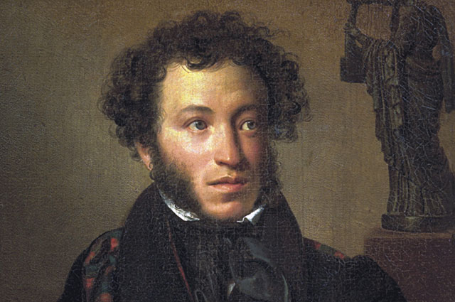 Александр Пушкин,портрет работы О. А. Кипренского. 1827 год.