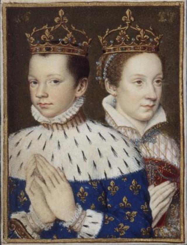 Мария Стюарт и Франциск II.