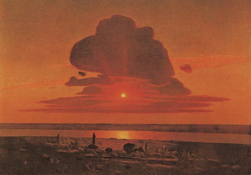 Архип Куинджи. Красный закат.