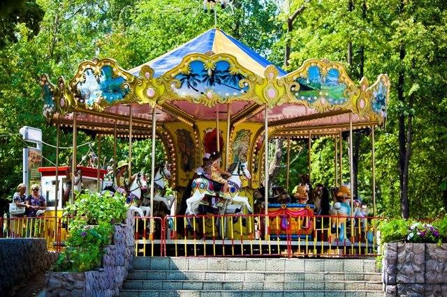 Популярный аттракцион парка Якутова -