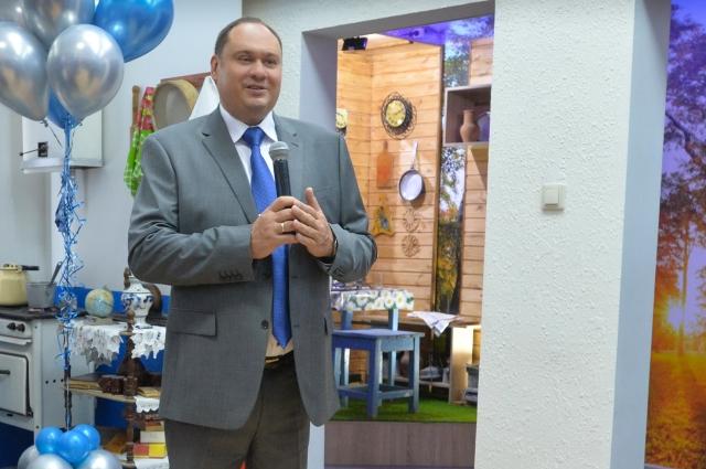 Алексей Завгороднев презентовал  новую экспозицию музея.
