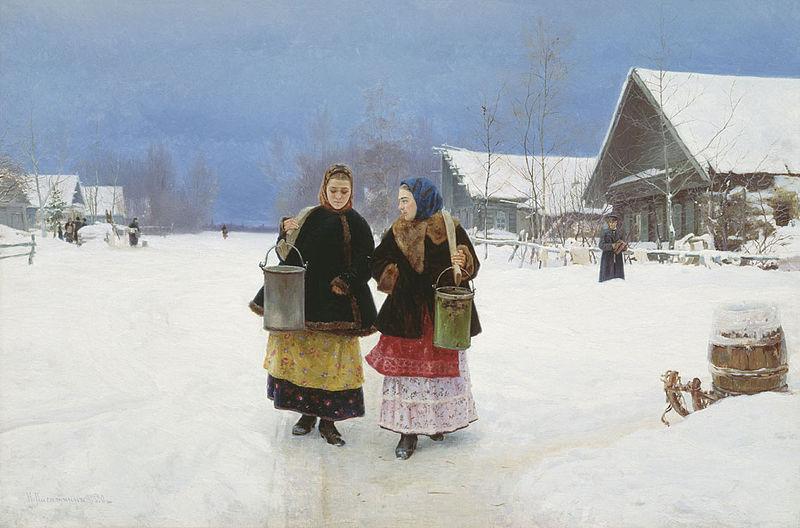 Николай Касаткин. Соперницы.