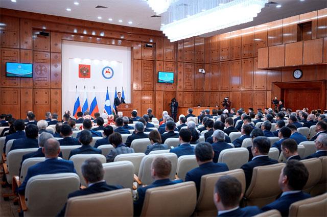 Государственное собрание Якутии.