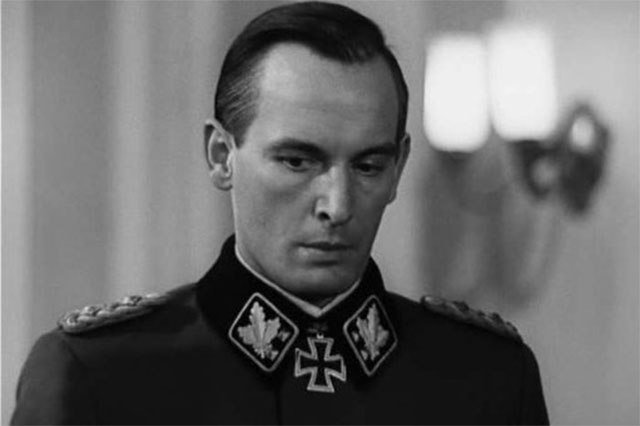 Василий Лановой в роли Карла Вольфа. «Семнадцать мгновений весны», 1973 год.