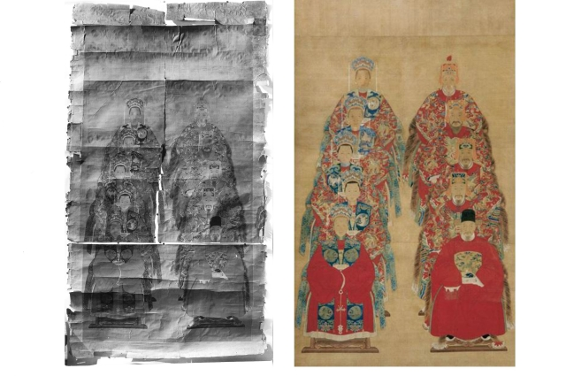 На реставрацию «Портретов предков» ушло полвека.
