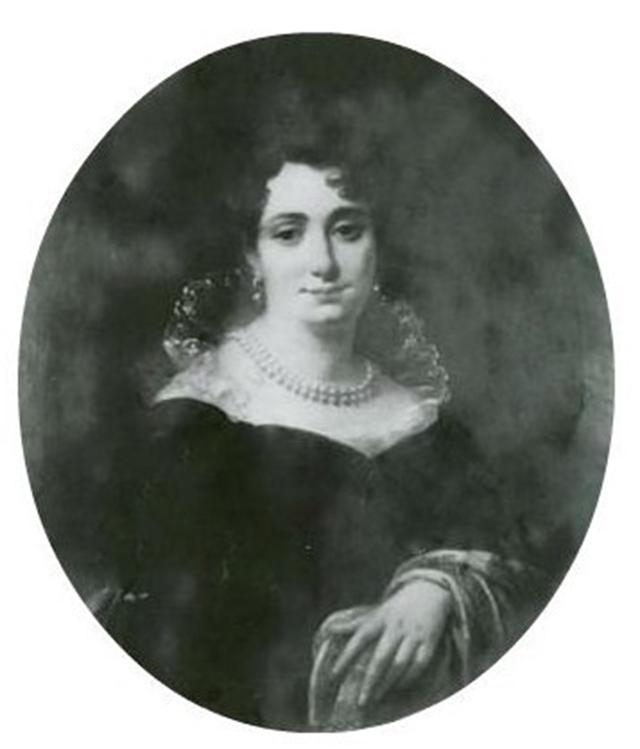 Графиня Софья Гауке на портрете А. Молинари (1830).