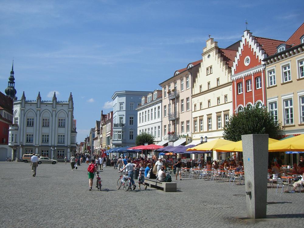 Грайфсвальд, рыночная площадь.