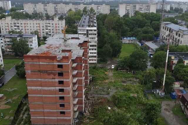 Здание, в котором пострадали дети.