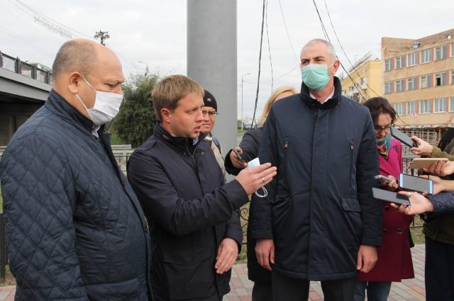 Евгений Фомин, Константин Овчинников, Владимир Казимиров.