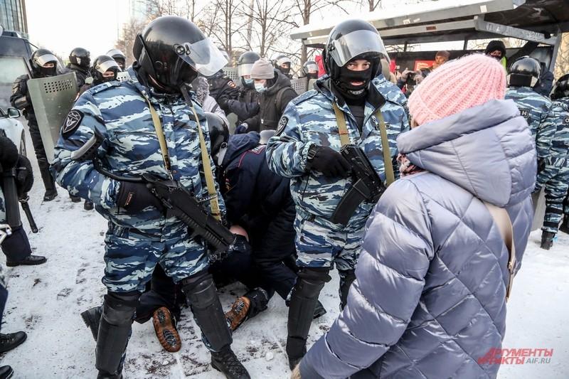 Митинг Навального в Екатеринбурге