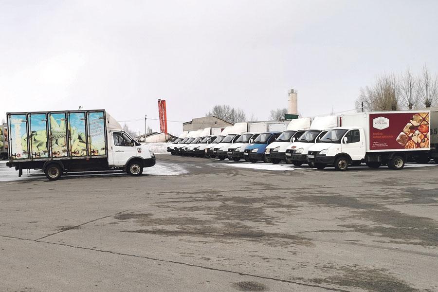 Автопарк хлебозавода составляет более 150 единиц техники.
