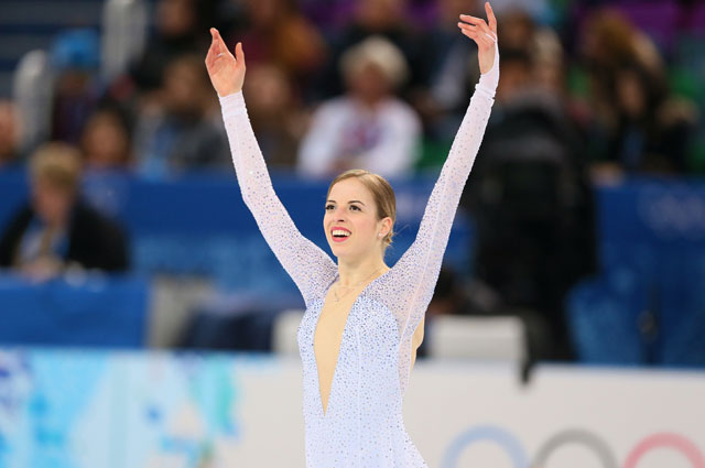 Каролина Костнер на Зимних Олимпийских играх 2014 в Сочи