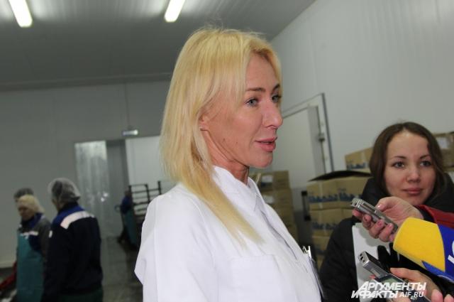 Ольга Шумейко уверена, что сотрудничество с Крымом принесёт предприятию дополнительную прибыль