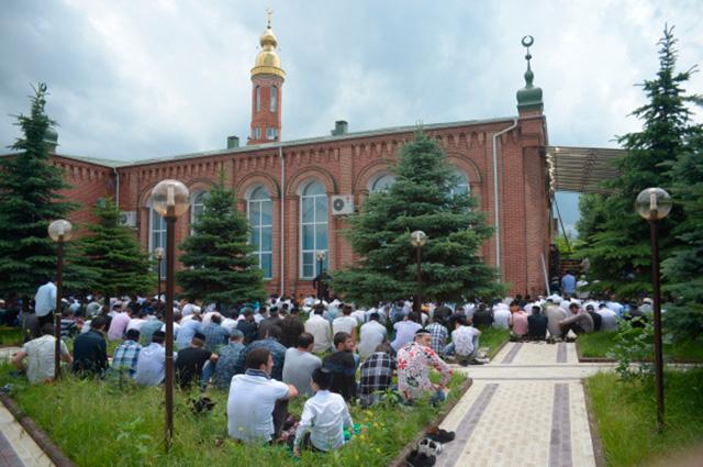 Центральная мечеть Назрани