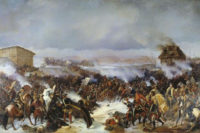 Картина А. Е. Коцебу «Битва при Нарве».