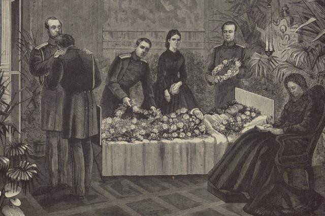 12 апреля после четырехчасовой агонии Николай умер.