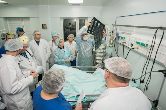 Выживших в ДТП в ХМАО доставили в больницу