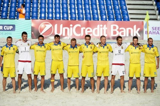 Национальная сборная по пляжному футболу