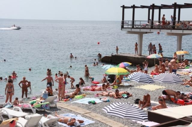Массандровский пляж.
