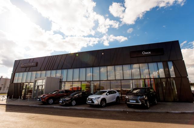 Новый салон построен в соответствии с концепцией корпоративных стандартов Лексус-2020.