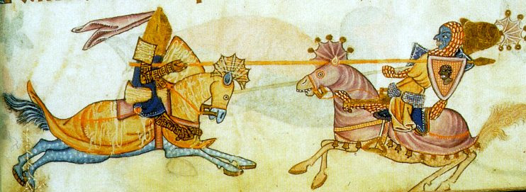 Ричард и Саладин.
