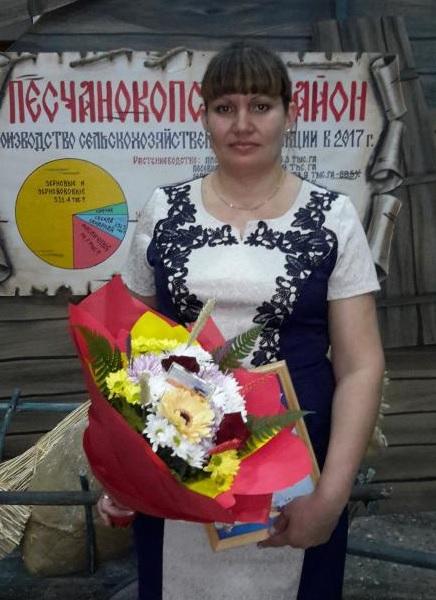 Валентина Безниско - лучшая доярка Песчанокопского района.