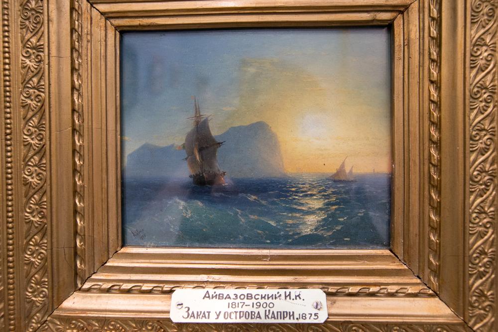Игра воды и света в картинах художника особенно выразительна.