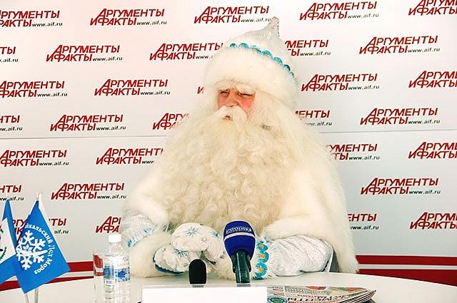 Байкальский дед мороз в гостях у еженедельника.