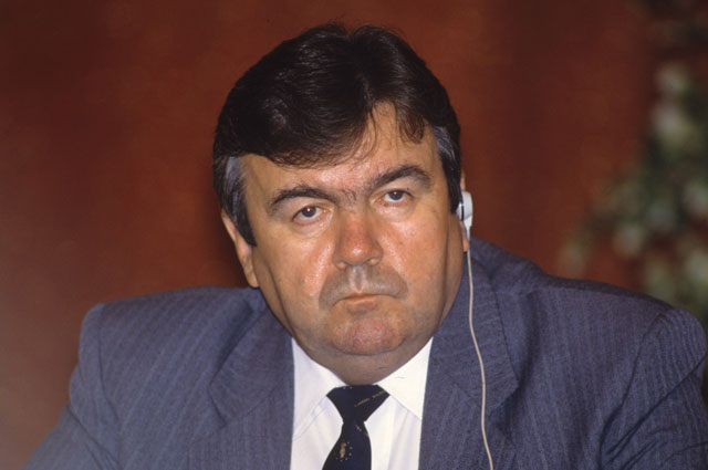 Мирча Снегур. 1992 г.