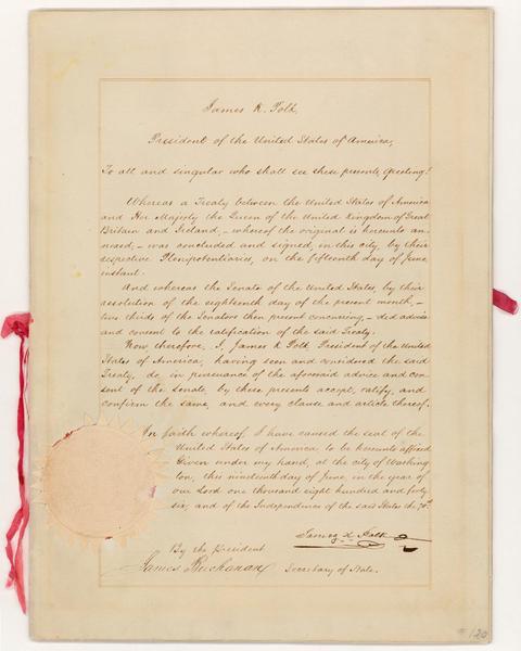 Орегонский договор.