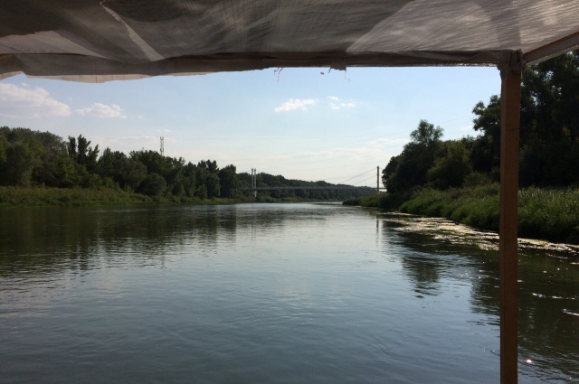 Красота реки Урал.