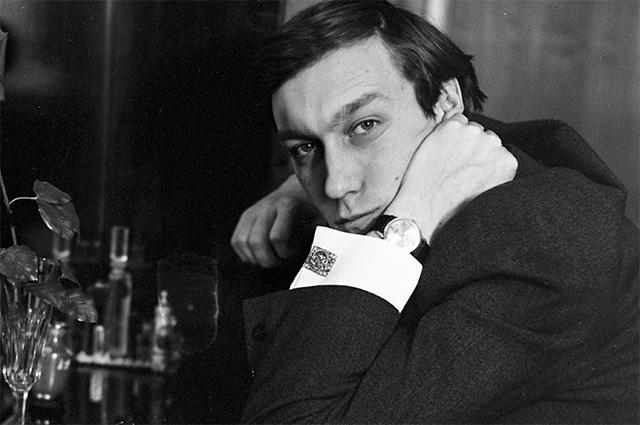 Олег Янковский. 1970 год