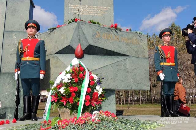 Мемориал в память о пострадавших от Чернобыльской аварии