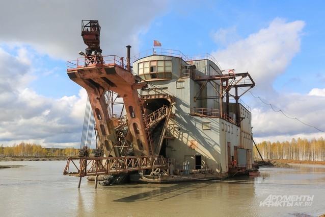 Драга - корабль и эксковатор