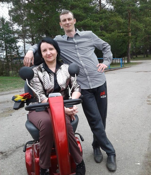Таня Рябкова с мужем Андреем.