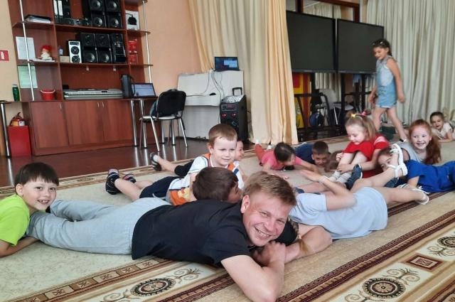 Работая с детьми, остаешься молодым душой.