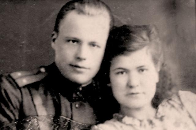 Павел и Мария Смирновы в годы войны