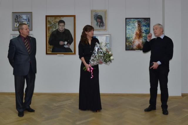 открытие выставки, Виктор Бритвин, Анна Бубнова
