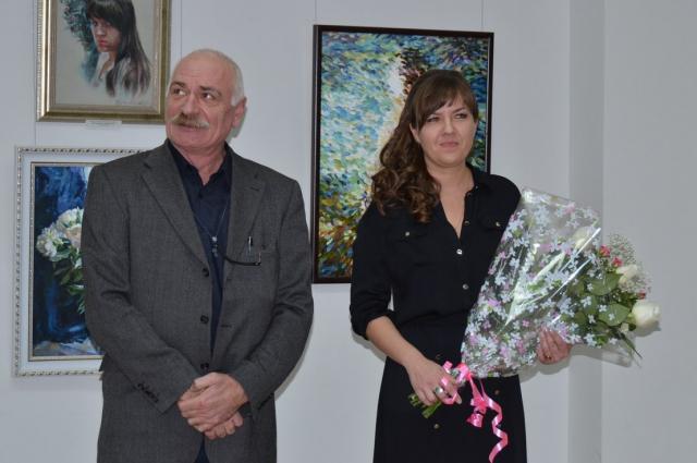 открытие выставки, Александр Федосеев, Анна Бубнова
