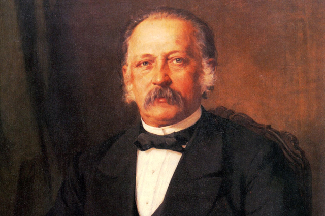 Теодор Фонтане, 1883 год.